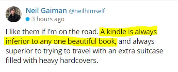 Neil Gaiman Tweet Ebook