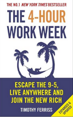 4- Hour Work Week Book cover