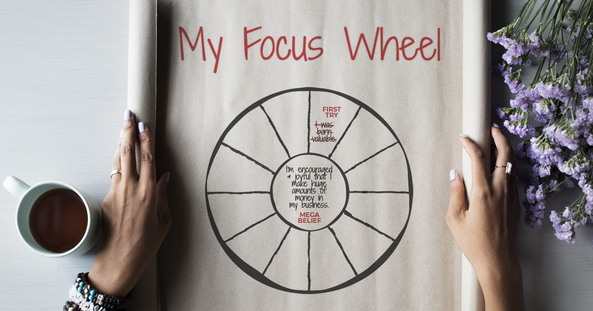Improve Your Mind & Get What You Want Focus Wheels Hero Image